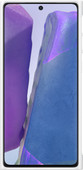 Samsung Galaxy Note 20 Clear Protective Back Cover Witte Rand