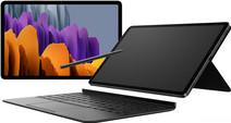 Samsung Galaxy Tab S7 128GB WiFi Silver + Samsung Keyboard Cover QWERTY Black