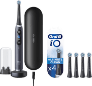 Oral-B iO - 9n Zwart Powered By Braun + 4 borstels