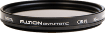Hoya Fusion Antistatic PL-CIR 86mm