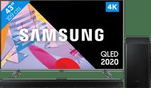 Samsung QLED 43Q64T + Soundbar