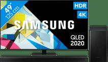 Samsung QLED 49Q80T + Soundbar