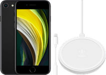 Apple iPhone SE 128 GB Zwart + Accessoirepakket Basis