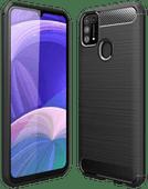 Just in Case Rugged Hybrid Samsung Galaxy M31 Back Cover Zwart