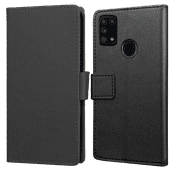 Just in Case Wallet Samsung Galaxy M31 Book Case Zwart