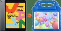 Apple iPad (2019) 128 GB Wifi Space Gray + Kinderhoes Blauw