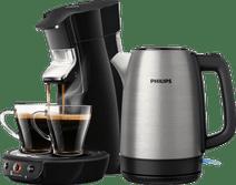 Philips Senseo Viva Café HD6563/60 Black + Kettle