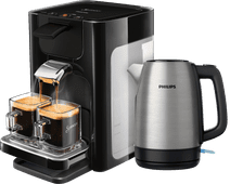 Philips Senseo Quadrante HD7865/60 Zwart + waterkoker