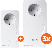 Devolo Magic 2 WiFi next Multiroom Kit + Uitbreiding (NL)