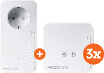 Devolo Magic 1 WiFi mini Multiroom Kit + Uitbreiding (NL)
