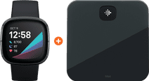 Fitbit Sense Carbon/Graphite + Fitbit Aria Air Black
