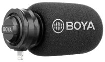 Boya BY-DM200 Cardioid Video Microphone for iOS