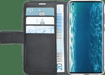 Azuri Wallet Motorola Edge Book Case Zwart Motorola hoesjes