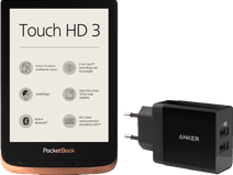 PocketBook Touch HD 3 + Oplader