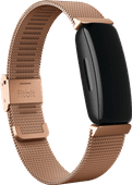 Fitbit Inspire 2 Metal Strap Rose Gold