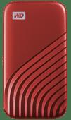 WD My Passport 500GB SSD Red