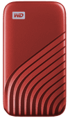 WD My Passport 1TB SSD Red