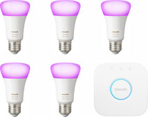 Philips Hue White & Color E27 Starter 5-Pack
