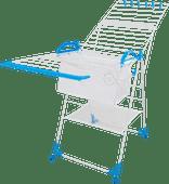 BlueBuilt Droogrek 25 meter met Wasmand, Wasknijpers en Waszak