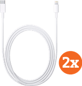 Apple Lightning to USB-C Cable 1m Duo Pack