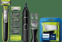 Philips Oneblade QP2630/30 + 3 OneBlade mesjes  + Neustrimme