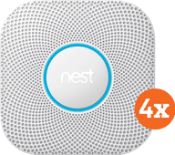 Google Nest Protect V2 Power Grid 4-Pack