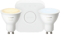 Philips Hue White Ambiance GU10 Bluetooth Starter Duo Pack