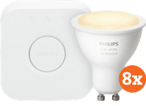 Philips Hue White Ambiance GU10 Bluetooth Starter 8-pack