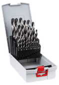 Bosch 25-piece PointTeQ HSS Drill Set Metal