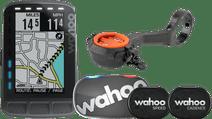 Wahoo ELEMNT ROAM Stealth Sensorenbundel+ CloseTheGap HideMyBell Raceday Zwart Stuurhouder