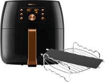 Philips Airfryer XXL Premium HD9867/90 + Frying Rack + Food Separator