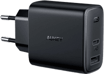 Aukey PA-F3 Charger without Cable 2 USB Ports 18W Power Delivery