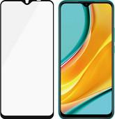 PanzerGlass Case Friendly Xiaomi Redmi 9 Screenprotector Glas Zwart