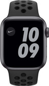 Apple Watch Nike Series 6 40mm Space Gray Aluminium Zwarte Sportband