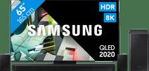 Samsung QLED 8K 65Q900T + soundbar