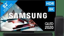 Samsung QLED 8K 82Q800T + soundbar