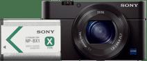 Sony CyberShot DSC-RX100III + NP-BX1 Accu
