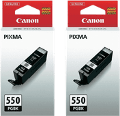 Canon PGI-550 Cartridges Pigmentzwart Duo Pack