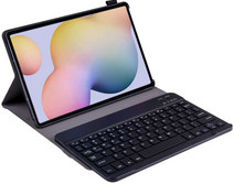 Just in Case Samsung Galaxy Tab S7 Premium Toetsenbord Hoes Zwart QWERTY