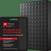 Seagate Expansion Portable 2TB incl. 2 jaar gegevensherstel
