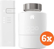 Tado Slimme Radiator Thermostaat Starter 6-Pack