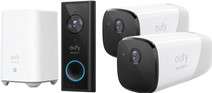 Eufy by Anker Eufycam 2 Duo Pack + Video Doorbell Battery