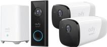 Coolblue-Eufy by Anker Eufycam 2 Duo Pack + Video Doorbell Battery-aanbieding