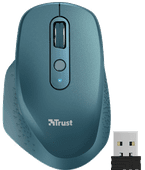 Trust Ozaa Rechargeable Wireless Comfort Mouse Blue
