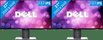 2x Dell UltraSharp U2719D