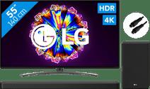 LG 65NANO816NA (2020) + Soundbar + Optical Cable