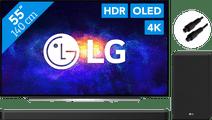 LG OLED55CX6LA (2020) + Soundbar + Optical Cable