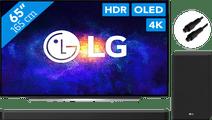 LG OLED65CX6LA (2020) + Soundbar + Optische kabel