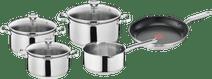 Tefal Duetto 4-piece Cookware Set + Tefal Virtuoso Frying Pan 28cm
