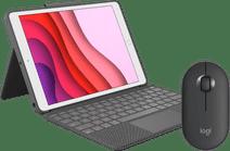 Logitech Apple iPad (2020)/(2019) Toetsenbord Hoes QWERTY + Logitech Draadloze muis